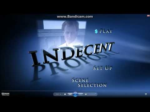 Opening to Indecent Proposal 2002 DVD