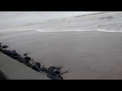 Tsunami em Mongaguá SP neste momento