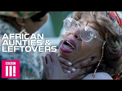African Aunties Go To War Over Leftovers | Famalam