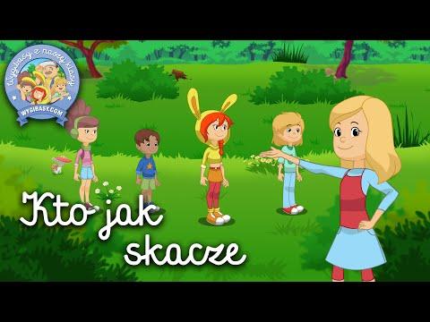 KTO JAK SKACZE – WYGIBASY TV - piosenki dla dzieci - piosenka dla dzieci, dziecięce hity!