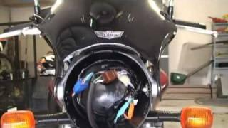 7. 919 Honda Hornet  / Windshield Installation / CB900F-07