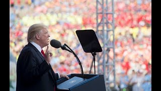 Trump Gives Speech At Boy Scouts Jamboree And Makes Political Speech Booing Obama And Praising Trump Boos for Obama ...