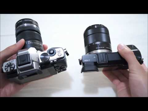 Olympus OM-D EM-5 vs. Sony NEX-7 Head to Head Part 1: Handling, Size, Build, Screen, and EVF