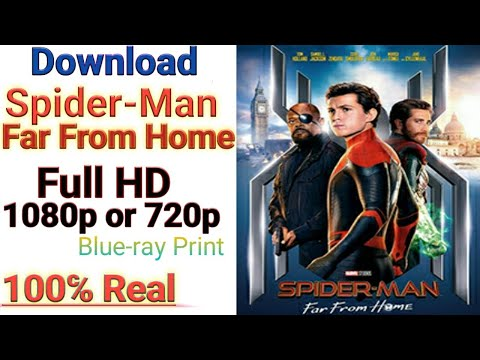 Download Spider-Man Far From Home in Full HD 1080p or 720p Hindi 100 Real.🔥Blue-ray Print🔥
