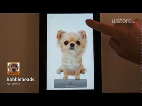 Video of Bobbleheads LiveWallpaper