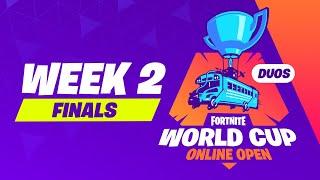 Fortnite World Cup - Week 2 Finals