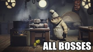 Video Little Nightmares - All Bosses (With Cutscenes) HD 1080p60 PC MP3, 3GP, MP4, WEBM, AVI, FLV November 2018