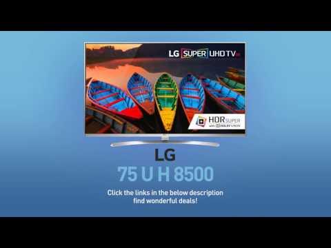LG 75UH8500 Super UHD 4K HDR Smart LED TV - 75