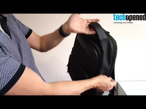 Tech Gadget Backpack by Arctic Hunter with USB and Headphone port! Review!