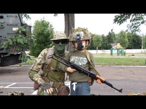 Десантники 95-й бригады проводили экскурсию в военной части