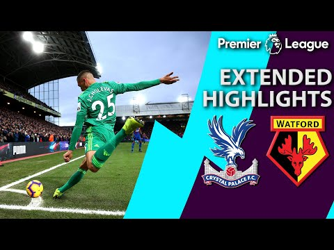 Video: Crystal Palace v. Watford | PREMIER LEAGUE EXTENDED HIGHLIGHTS | 1/12/19 | NBC Sports