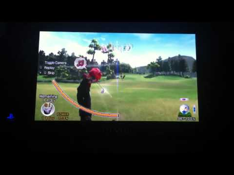 Hot Shots Golf: World Invitational chip in eagle