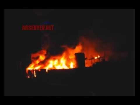 В Арсеньеве дым от покрышек накрыл город