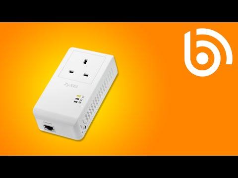 ZyXEL PLA4215 HomePlug Adapter