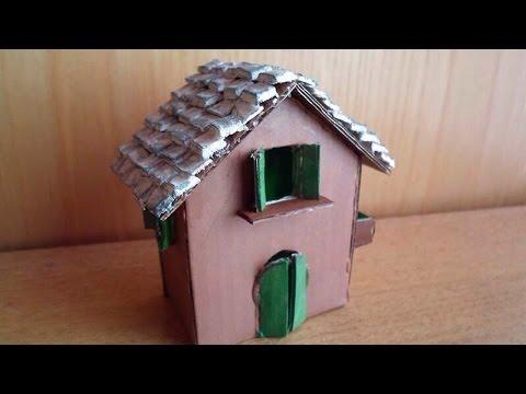 graziosa casetta in miniatura – fai da te