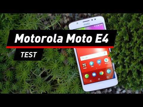 Motorola Moto E4: Smartphone für unter 100 Euro im Te ...