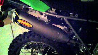 2. KLX250S Stock Exhaust vs FMF Q4