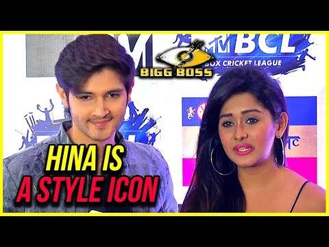 Rohan Mehra And Kanchi Singh COMPLIMENT Hina Khan