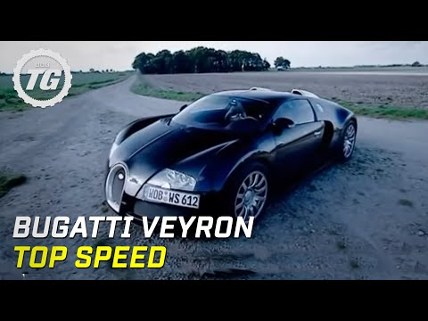 James May's Bugatti Veyron Top Speed Test - Top Gear - BBC autos