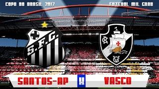 Deixe seu like e inscreva-se! Veja os melhores momentos da vitória do Vasco por 2x0 contra o Santos-AP pela 1ª fase da copa do Brasil (jogo único) Gols: ...