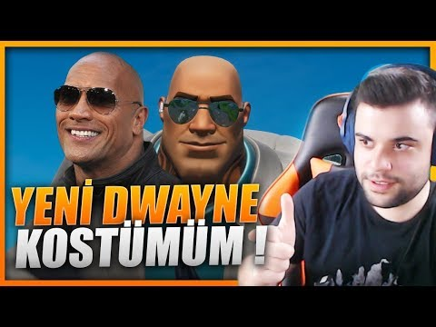 YENİ DWAYNE JOHNSON KOSTÜMÜM ! (FORTNITE)