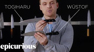Video Knifemaker Explains The Difference Between Chef's Knives | Epicurious MP3, 3GP, MP4, WEBM, AVI, FLV April 2018