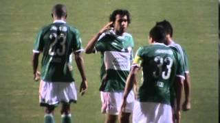 Primeiro gol do jogo e também o primeiro do Lúcio pelo Palmeiras. Reage Verdão.