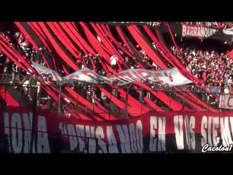 Colón 0 vs Vélez 0 - Aca está tu hinchada (Entran los bombos) - Los de Siempre - Colón