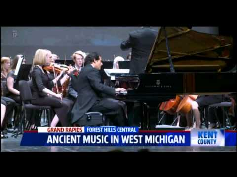 News Report Featuring Malek Jandali Echoes from Ugarit with Forest Hills CHS Orchestra