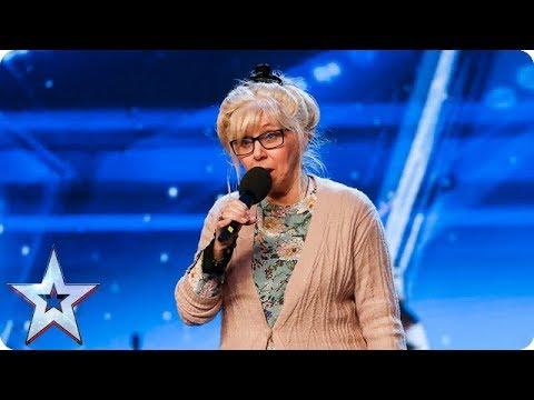 68-letnia emerytka wzięła udział w Mam Talent! Kiedy zaczęła śpiewać, ludziom opadły szczeny!