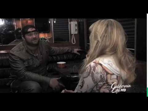 Musician Lee Brice @ the Viper Room in LA with Host Heather Dawson