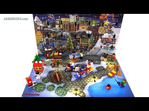 LEGO City 2014 Advent Calendar opened & reviewed!