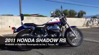 9. 2011 Honda Shadow RS For Sale in Tucson AZ 520-579-3939 | RideNow Powersports on Ina #UH0180