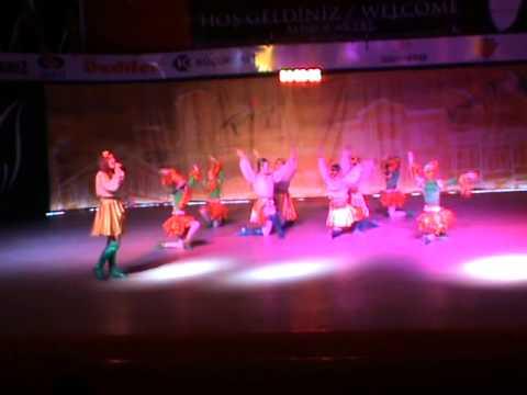 26 İnegöl Belediyesi Uluslararası Kültür Sanat Festivali Halk Dansları Gösterisi- Ukrayna