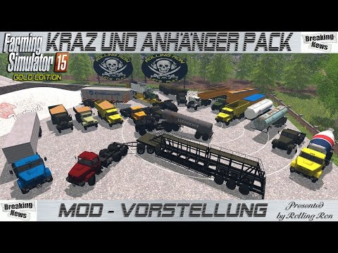 Kraz and Trailers Pack v2