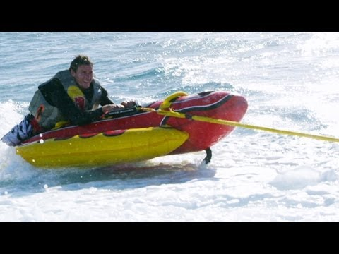 Watch Ian surf Jaws on a weiner and then realize why he's able to do it. - CCTV Video placeholder