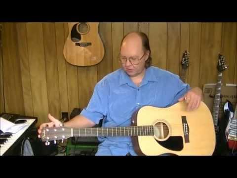 Fender CD-100CE L/H Natural