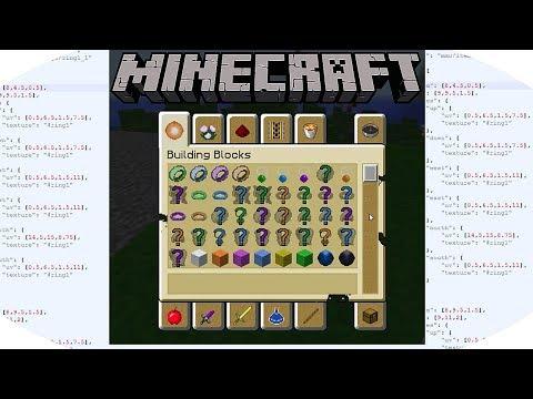 Minecraft MMO-Texturen Paket, Wie habe ich Texturen erstellt (Zusammenfassung )