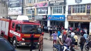Kluang Malaysia  city photos gallery : Accident at Kluang, Johor, Malaysia