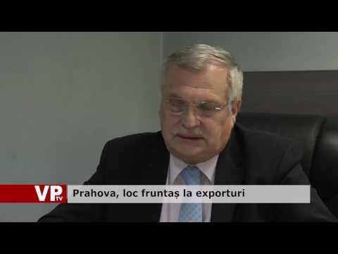 Prahova, loc fruntaș la exporturi