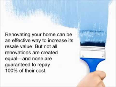 How to Add Value To Your Home - Learn The 10 Home Improvements that Add Value