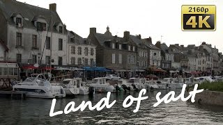 Guerande France  city photos gallery : Le Croisic and the Salt of Guérande - France 4K Travel Channel