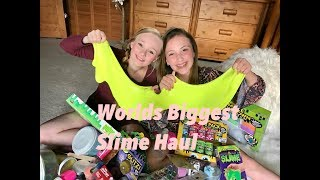 Hey Guys, so I have had a lot of request to do a slime video and here it is. Me and nicole went slime shopping to give you guys the worlds biggest Slime haul possible. We are going to show you how to make 32 different types of slime!!! I want to make all of them I love making it.. My favorite is the butter slime;)  Anyway please remember to like share and comment.Love Ella xoxoFan mail address:princess ella's world3070 Lakecrest circle suite 400-264Lexington, KY 40513 click the link for my instagram https://www.instagram.com/princess_ellas_world/my musical.ly isella_dancer_32