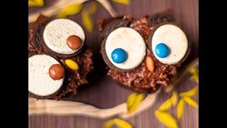 Videoricetta: gufetti di cupcake