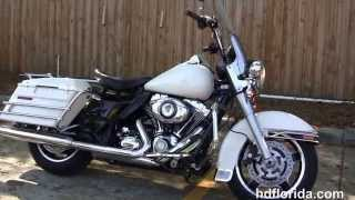 6. Used 2011 Harley Davidson Road King Police Motorcycles for sale