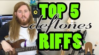 My top 5 deftones Riffs!! Nu Metal Riffs Part 2