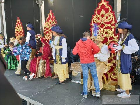 Entrega de cartas a los Reyes Magos en Isla Cristina, (Pozo del Camino y Punta del Caimán)