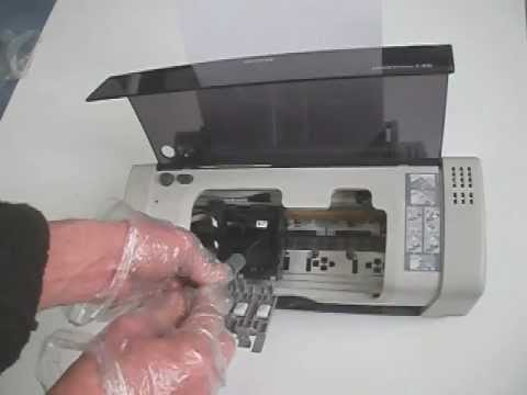 how to unclog ink cartridge epson