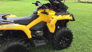 8. 2013 Can Am Outlander 1000 Review and Wetsounds Soundbar review