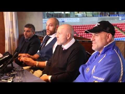 TYSON FURY BRANDS TEAM KLITSCHKO 'CHEATS' & TALKS FEAR OF WATER BEING 'DRUGGED' BEFORE/AFTER FIGHT